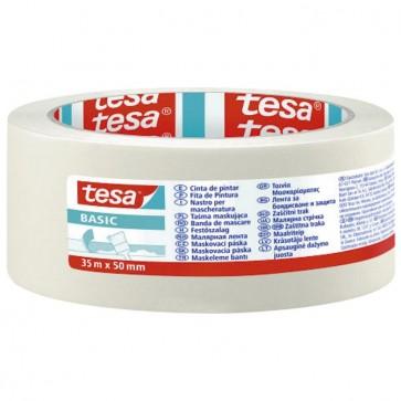 Traka ljepljiva krep 50mm/35m Basic Tesa 58594