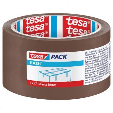 Traka ljepljiva 50mm/66m Hot Melt Basic Tesa smeđa