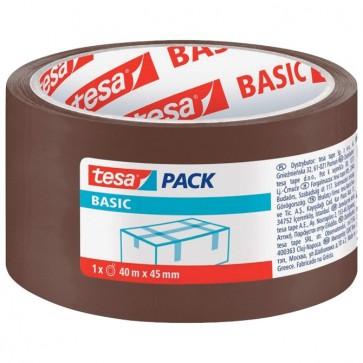 Traka ljepljiva 45mm/40m Hot Melt Basic Tesa smeđa