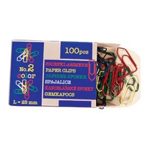 Spajalice ručne boja br.2 pk100 Nikomill boja