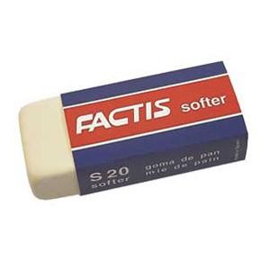 Gumica sintetička S20 softer Factis bijela komad