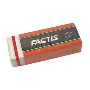 Gumica plastična ES20 extra soft Factis bijela