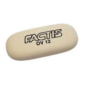 Gumica sintetička OV12 oval Factis bijela