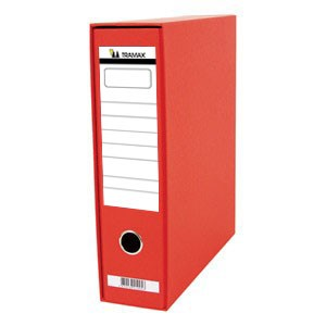 Registrator A4 široki u kutiji Tramax crveni