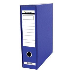 Registrator A4 široki u kutiji Tramax plavi