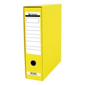 Registrator A4 široki u kutiji Tramax žuti