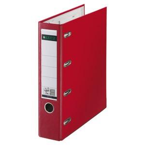 Registrator A4 široki samostojeći 2 mehanizma Leitz 10120025 crveni