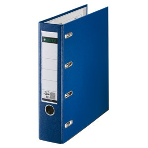 Registrator A4 široki samostojeći 2 mehanizma Leitz 10120035 plavi