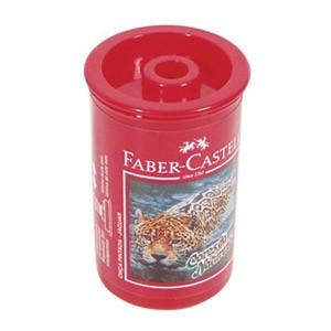 Šiljilo pvc s kutijom Faber Castell 581312 crveno