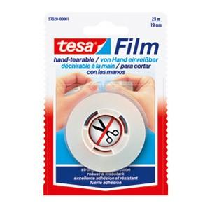 Traka ljepljiva 19mm/25m Tesafilm Tesa 57520 prozirna blister
