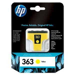 HP C8773EE No.363 - YELLOW