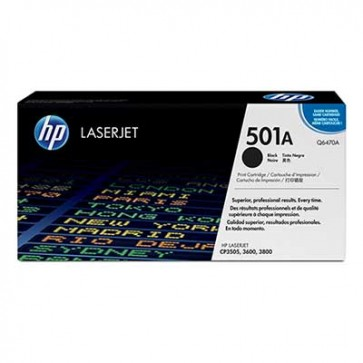 HP Q6470A BLACK - 501A