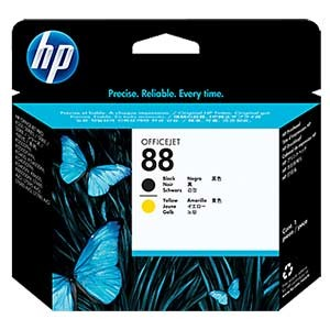 HP C9381A No.88 PRINTHEAD - BLACK+YELLOW