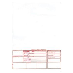 Obrazac HUB-3A memorandum A4 1/300