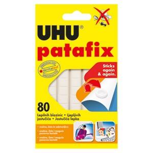 Ljepilo-jastučići 65g 80x Patafix Tac UHU 48810 bijelo blister