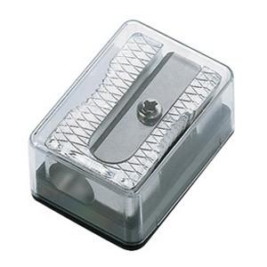 Šiljilo metalno 2 noža u kutiji Mobius 02000 0700