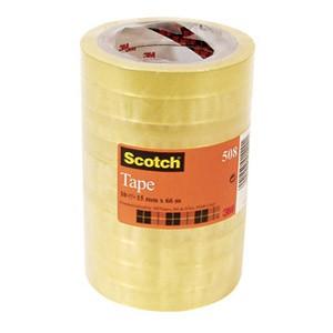 Traka ljepljiva 15mm/33m pk10 Scotch 508 3M.prozirna