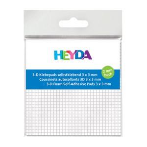 Ljepilo obostrano,spužva 3x3mm/2mm Heyda 20-48890 05 bijelo blister