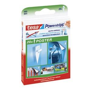 Ljepilo obostrano pk20 Powerstrips Poster Tesa 58003 blister