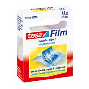 Traka ljepljiva obostrana 12mm/7,5m Tesafilm Tesa 57910 blister