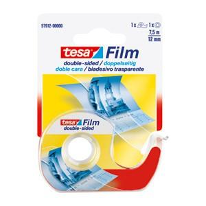 Traka ljepljiva obostrana 12mm/7,5m+stalak Tesa 57912 blister