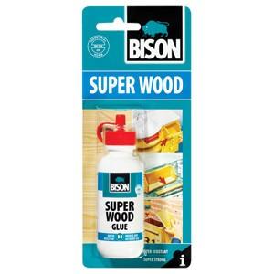 Ljepilo za drvo 75g Superwood Bison 1539029 blister