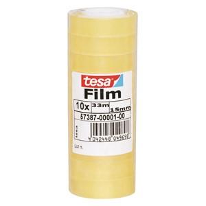Traka ljepljiva 15mm/33m pk10 Tesafilm Tesa 57387 prozirna