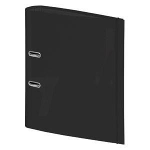 Registrator A4 široki samostojeći s gumicom Color Code Brunnen 10-2042990 crni