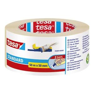 Traka ljepljiva krep 50mm/50m Standard eko Tesa 5089