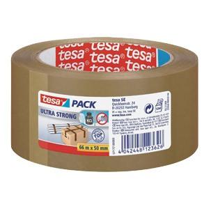 Traka ljepljiva 50mm/66m PVC guma Ultra strong Tesa smeđa