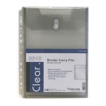 Kuverte s gumbom A4 pp uložne Foldermate 3013 prozirne sortirane