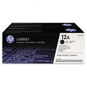 HP Q2612AD BLACK - 12AD