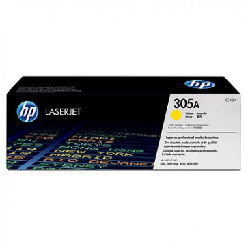 HP CE412A YELLOW - 305A