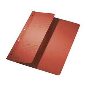 Fascikl-polufascikl karton s mehanikom A4 F7 Leitz 37400025 crveni