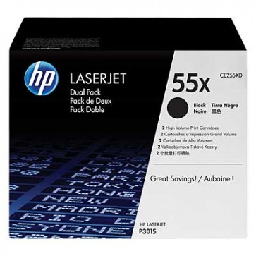 HP CE255XD 2-pack BLACK - 55X