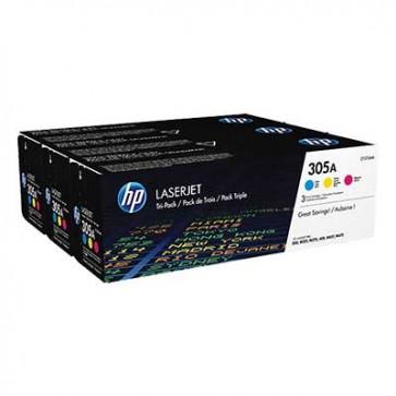 HP CF370AM 3-pack (CE411A+CE412A+CE413A) 305A