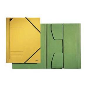Fascikl klapa s gumicom karton A4 Leitz 39810055 zeleni