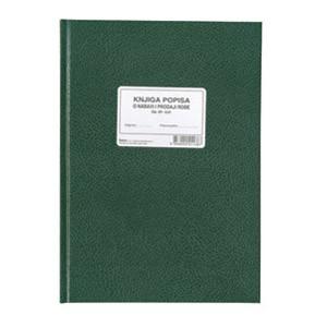 Obrazac G-51 knjiga popisa nabave i prodaje