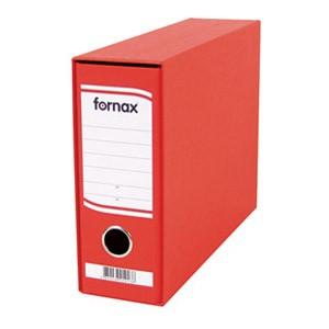 Registrator A5 široki u kutiji Fornax crveni