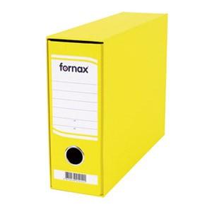 Registrator A5 široki u kutiji Fornax žuti