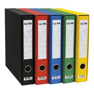 Registrator A4 uski u kutiji Lipa Mill 004145 crni
