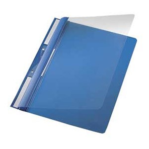 Fascikl mehanika euro s 2rupe pvc A4 Leitz 41900135 plavi