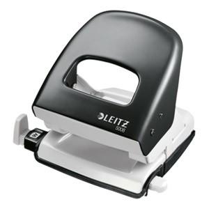 Bušač 2 rupe do 30 listova Leitz 50080095 crni