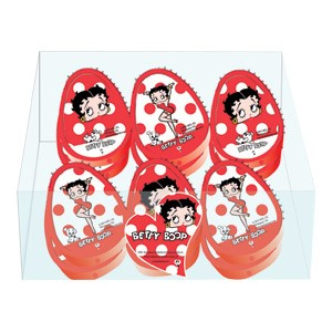 Šiljilo pvc s kutijom pk12 Betty Boop Target 11-0655 crveno