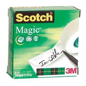 Traka ljepljiva nevidljiva 19mm/33m Scotch Magic-810 3M.