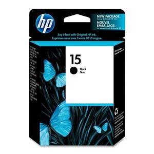 HP C6615DE No.15 DJ810 - BLACK