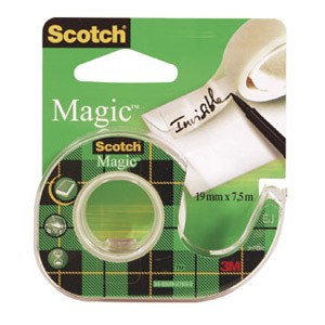 Traka ljepljiva nevidljiva 19mm/ 7,5m Scotch Magic 3M blister