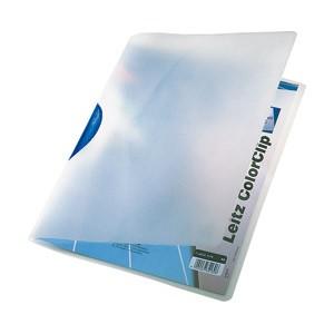 Fascikl klip pp A4 Color Leitz 41750035 plavi