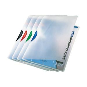 Fascikl klip pp A4 Color Leitz 41750099 sortirano