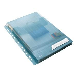 Fascikl uložni A4 pp proširen+klapa gore pk3 CombiFile Leitz 47270035 plavi